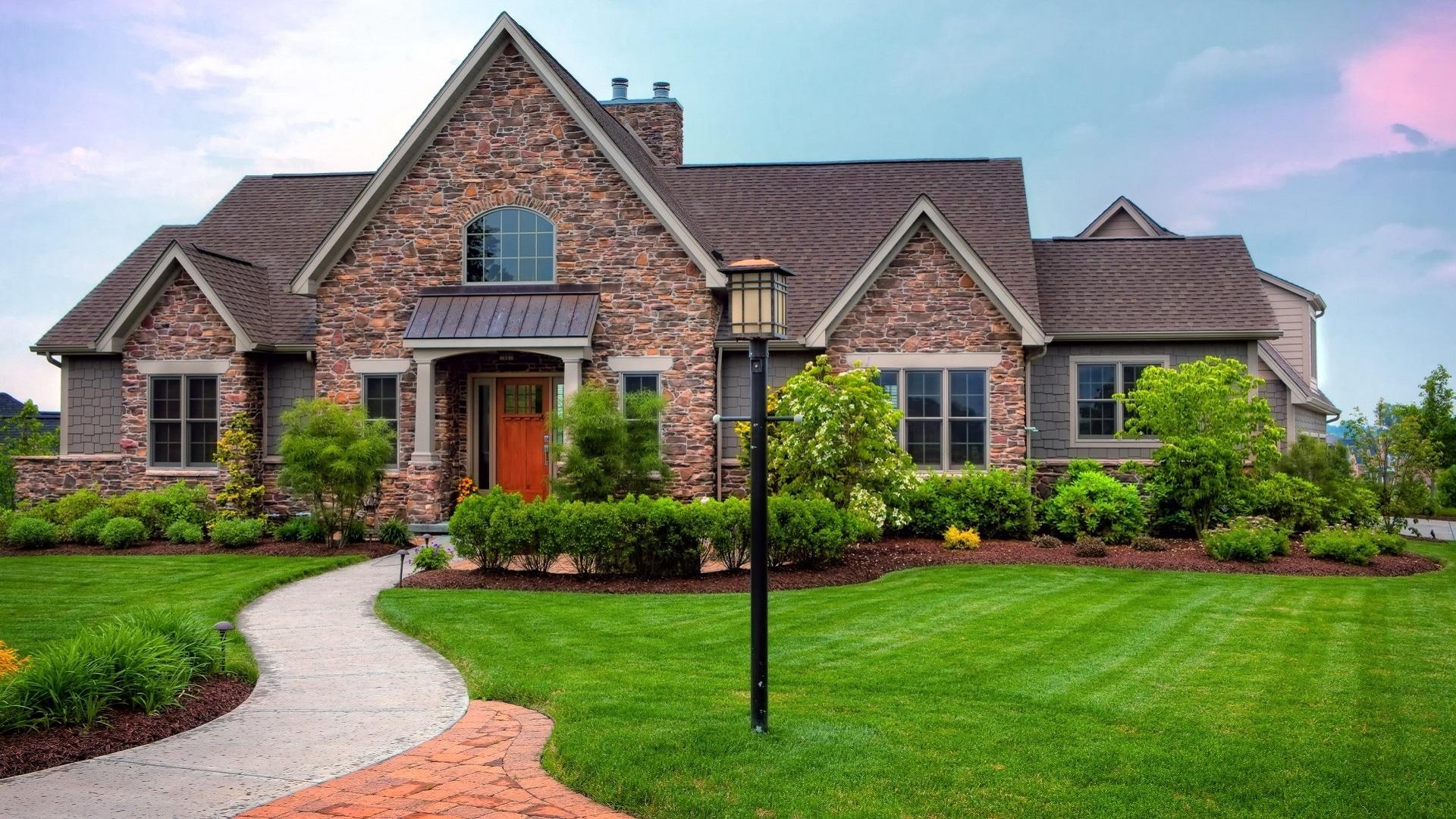 Красивые дома какие они?