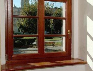Деревянные окна – классика