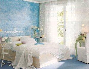 Какие обои подобрать для спальни по цветовой гамме