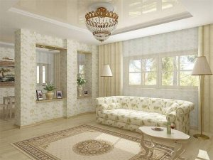 Как подобрать обои в гостиную и создать уют