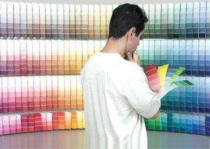 Как подобрать цвет обоев