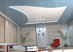 Подвесные потолки для вашей квартиры
