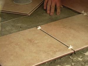 Выбор плитки на пол