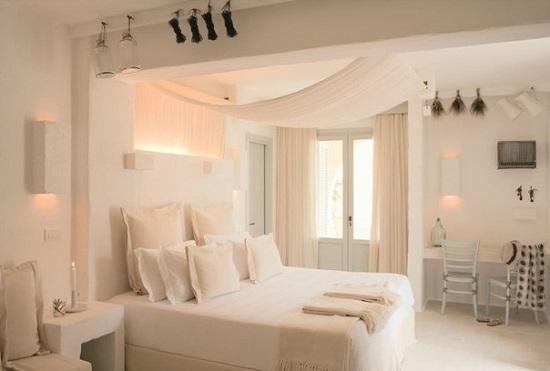 Дизайн спальни отеля Borgo Egnazia
