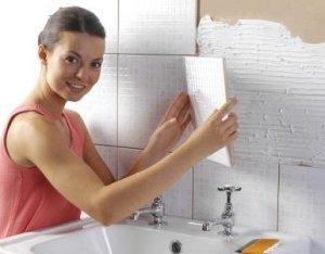 Укладка плитки на стену в домашних условиях