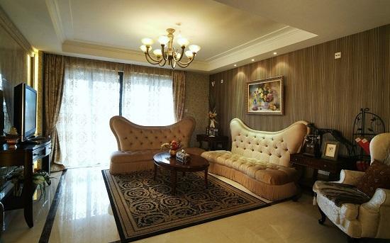 Идея дизайна гостиной в стиле ампир