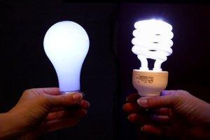 Типы ламп освещения