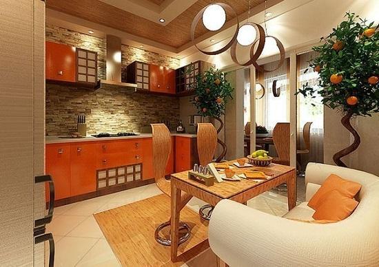 Яркий модерн на вашей кухне