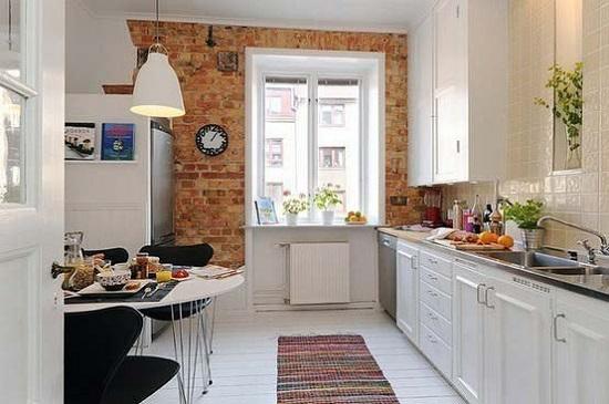 Современность и старина в дизайне кухни