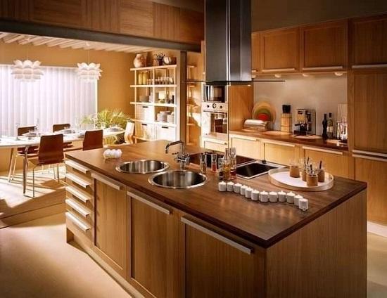 Древесные мотивы вашей кухни