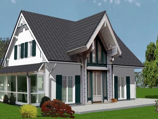 Сооружение каркасных загородных домов и дач