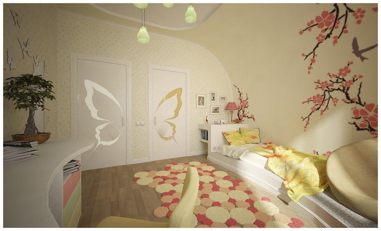 Идеи дизайна детской комнаты. Фото