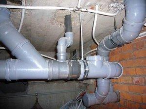 Трубы для канализации: правильный монтаж