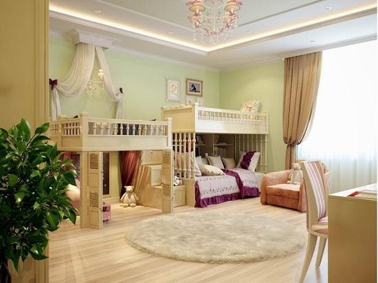 Королевские покои в детской комнате