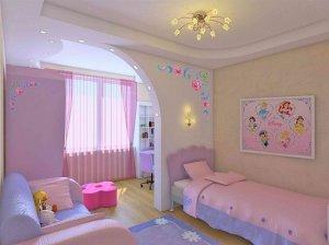 Детская комната для любительницы Диснея