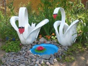 Делаем поделки для сада и огорода своими руками