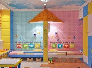 Яркая детская комната для мальчишки и девчонки