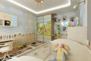 Детская комната: пусть ребенок растет на природе