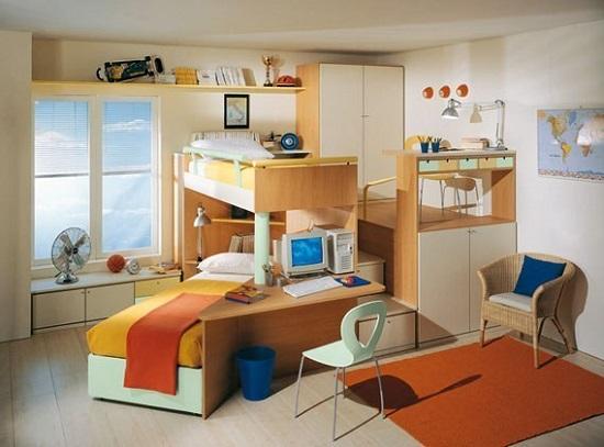 Идея дизайна детской комнаты для любознательных
