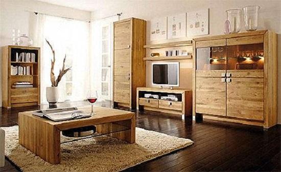 Из какого материала следует выбирать мебель в зал?