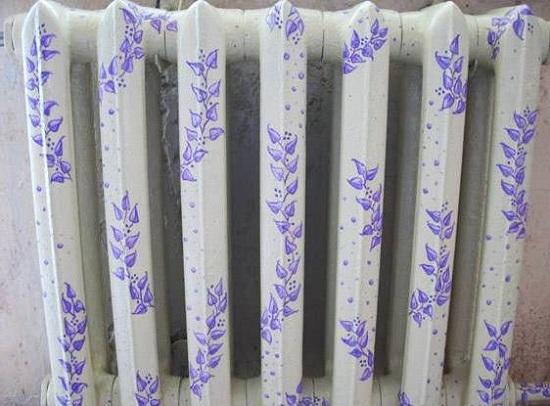 Подготовка и покраска радиатора