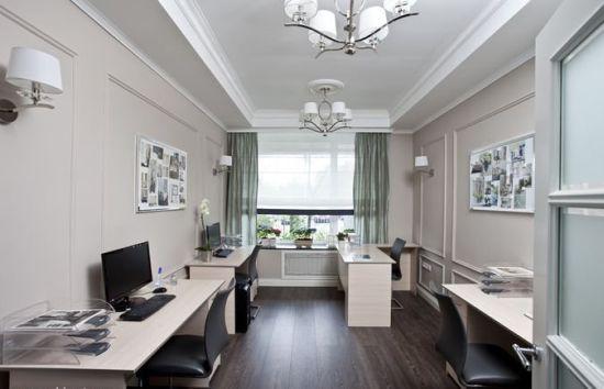 Идея дизайна офиса в стиле прованс
