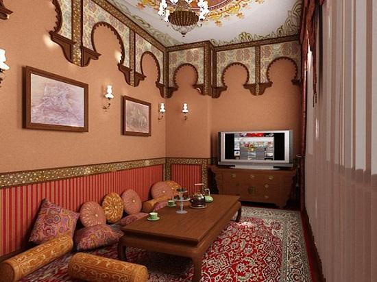 Индийский стиль в оформлении квартиры