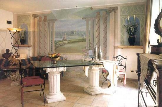 Характеристики античного стиля в интерьере