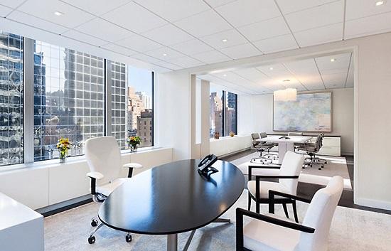 Предметы дизайна офисного помещения