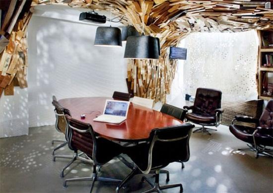 Элементы декора офисного помещения