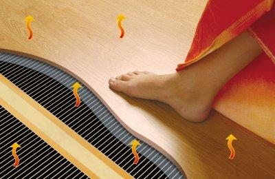 Теплый пол как способ отопления