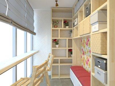 Как обычную лоджию превратить в изюминку квартиры