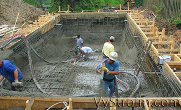 Строительство бассейна в доме своими руками 1047