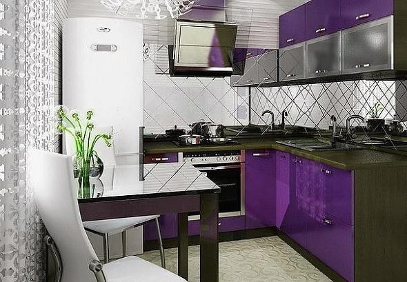 Идеи дизайна интерьера кухни на выбор