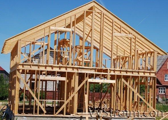 Каркасные дома под ключ: что нужно знать о недостатках?