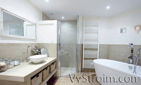 Обустраиваем маленькую ванную комнату современными товарами
