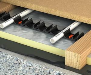 Управление работой элементов системы водяного теплого пола