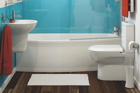 Смелый восточный дизайн ванной комнаты