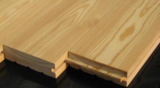 Монтаж вагонки, планкена и деревянного пола