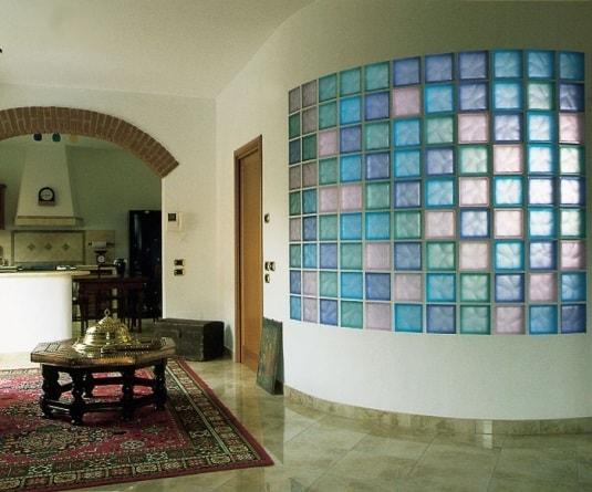 Стеклоблоки: строительные и декоративные функции