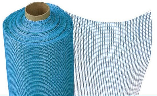Штукатурка с использованием армирующей сетки, особенности крепления к потол ...