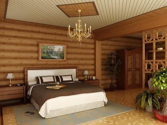 Внутренние отделочные работы в деревянном доме