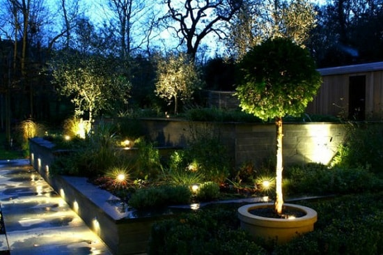 Функциональное освещение на загородном участке