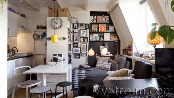 Советы по грамотной планировке маленькой квартиры