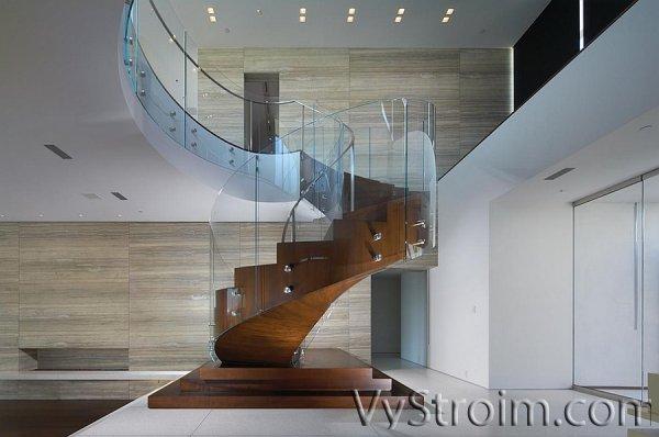 Винтовая лестница в интерьере: оригинальные идеи декори ...