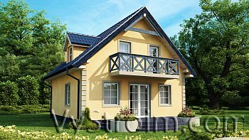 Лучшие дачные дома от компании usadba.in.ua