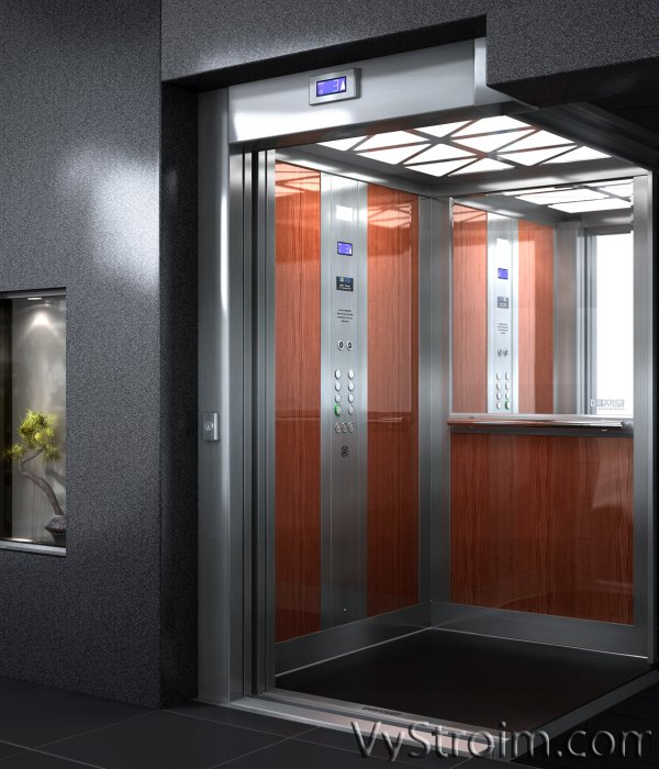 Особенности конструкции пассажирских лифтов