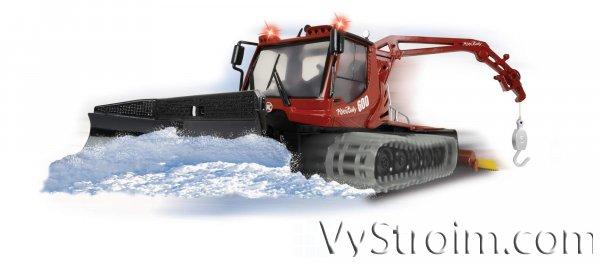 Технические характеристики снегоуборочной машины